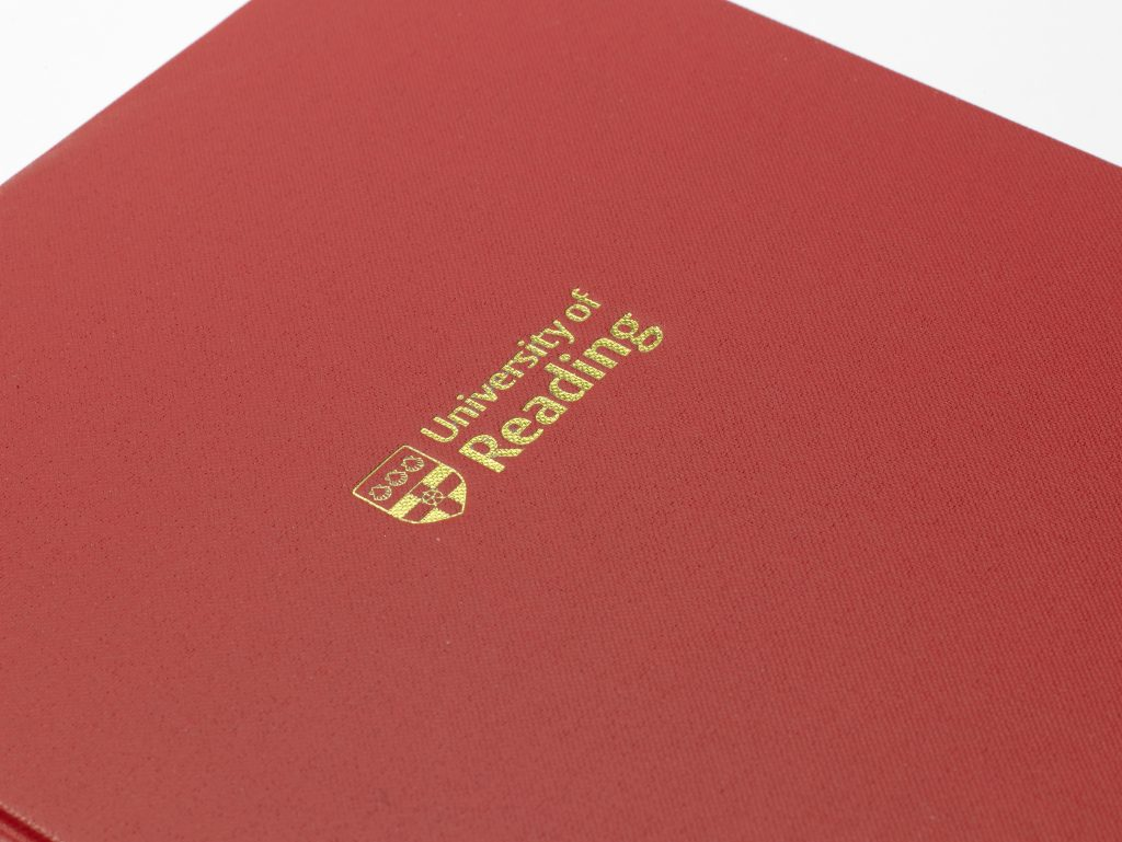 Dissertation printing, binding & embossing