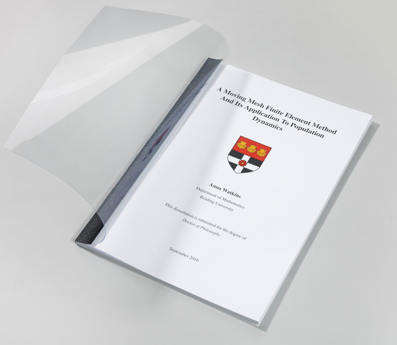 soft bound thesis Phd submission are you almost ready this can be done using either fast back binding or spiral binding ^ top of page soft-bound thesis submission for.