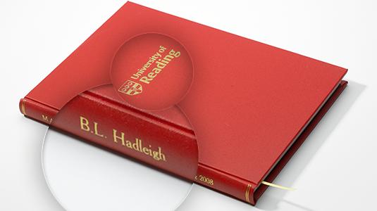 hard bound thesis cork