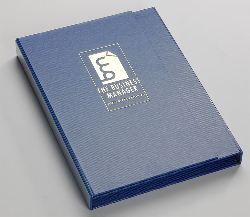 Personal coverbind document binder software