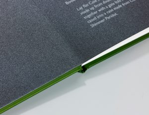 Case Bound Book with metallic foiling