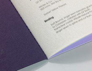 Soft Bound Singer Sewn Book